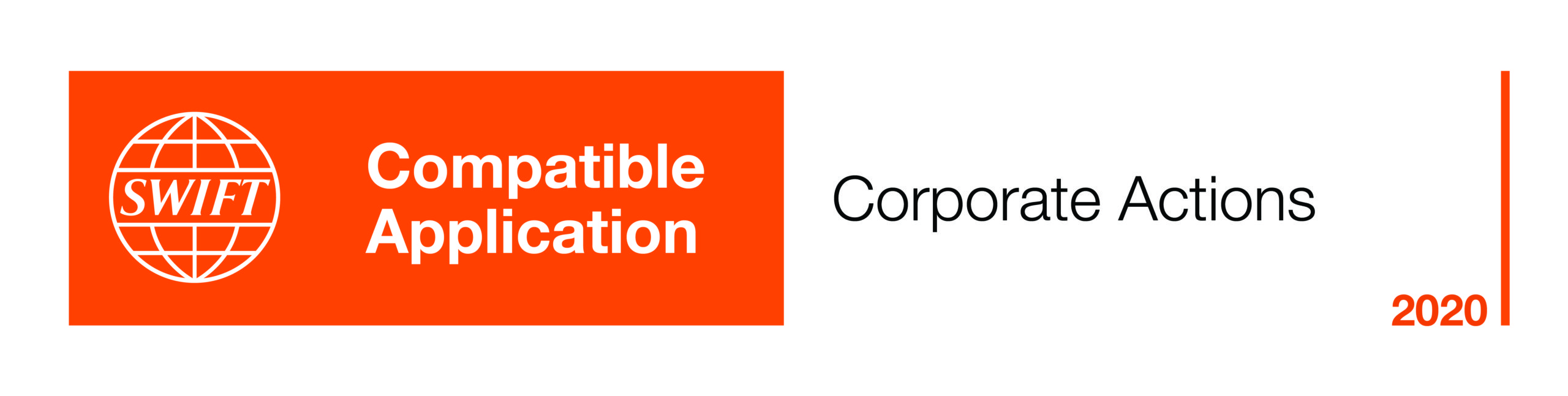 SWIFT Compatible Application Corporate Actions 2020