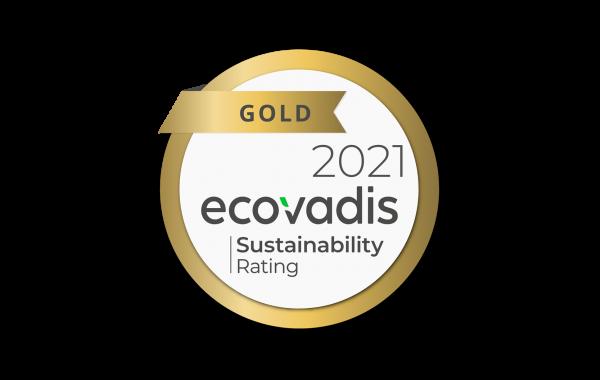 ECOVADIS GOLD 2021_CSR MEDAL LOGO