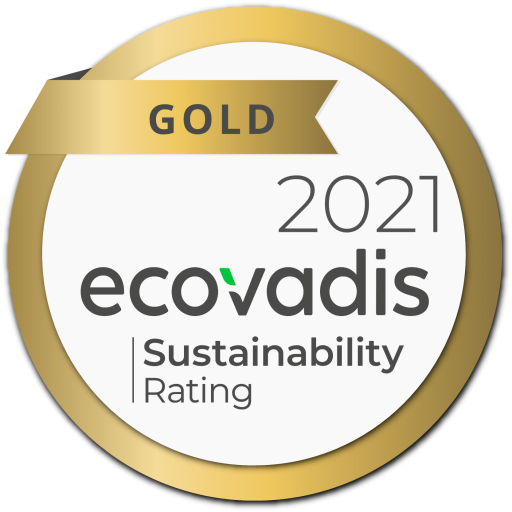 Ecovadis medal gold picture